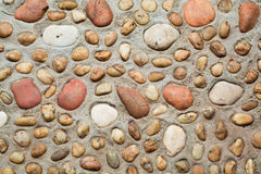 Stenenmuur royalty-vrije stock afbeelding