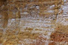 Stenentextuur en achtergrond De textuur van de rots stock fotografie
