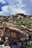 stenig arizona kull Royaltyfri Foto