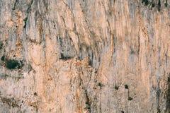 Stenig bakgrund av klyftorna Du Verdon i Frankrike Royaltyfri Bild