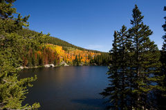 stenig bearlakebergnationalpark Arkivfoto