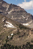 Stenig bergnationalpark Arkivfoton