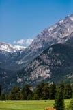 Stenig bergnationalpark Royaltyfria Foton