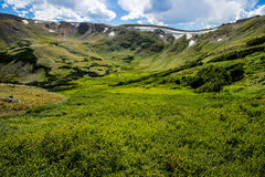 Stenig bergnationalpark Colorado Arkivbild