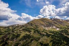 Stenig bergnationalpark Colorado Arkivfoton
