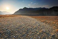 stenig dal för altaiberg Royaltyfria Foton