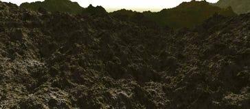 Stenig dal - vår Arkivbilder