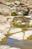 Stenig flod Royaltyfri Foto