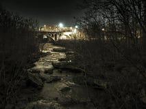 Stenig flod Royaltyfri Fotografi