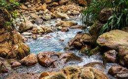 Stenig flod Arkivbild