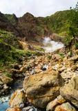 Stenig flod Arkivfoto