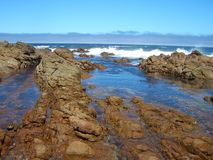 stenig kust Fotografering för Bildbyråer