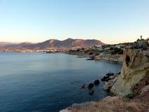 Stenig kust 3 fotografering för bildbyråer