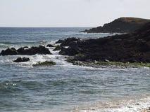 Stenig kust 1 Fotografering för Bildbyråer