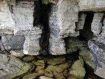 Stenig kust av Krim Royaltyfri Foto