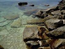 Stenig kust Krim Royaltyfria Foton
