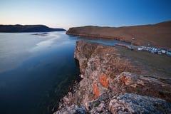 Stenig kustlinje Fotografering för Bildbyråer
