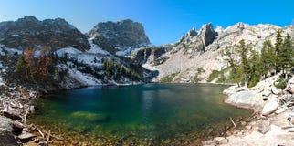 stenig nationalpark för berg för co-smaragdlake royaltyfria foton