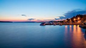 stenig rab för kustcroatia ö Royaltyfri Bild