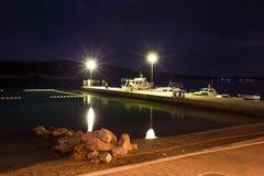 stenig rab för kustcroatia ö Royaltyfri Fotografi