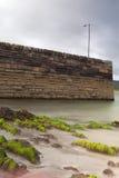 stenig sand för strandlyktapir Arkivbilder