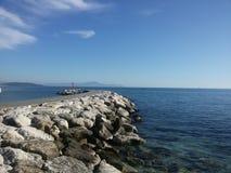 stenig seashore Fotografering för Bildbyråer