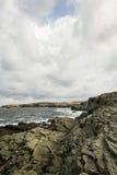 stenig seashore Royaltyfri Foto