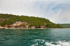 stenig seashore Royaltyfri Bild