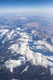 stenig sikt för berg Royaltyfri Fotografi