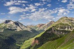 stenig sikt för berg Fotografering för Bildbyråer