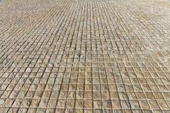 Stenig trottoar Royaltyfri Bild