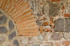 Stenig väggtexturbakgrund Royaltyfri Bild