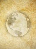 stenig värld för bakgrund Arkivfoto