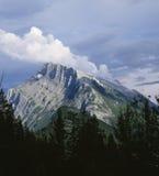 steniga alberta banff Kanada berg Arkivbilder