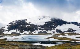 Steniga berg av Norge Arkivfoton