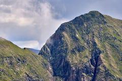 Steniga berg av Rumänien Arkivfoton