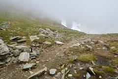 Steniga berg av Rumänien Royaltyfri Bild