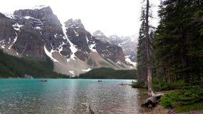 Steniga berg, Banff nationalpark, Kanada royaltyfria foton