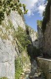 Steniga berg - Bicaz - Rumänien Fotografering för Bildbyråer