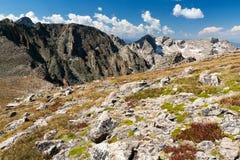 steniga berg för colorado liggandeberg Arkivfoton