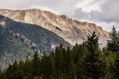 Steniga berg för Mt princeton colorado Royaltyfri Bild