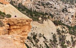 Steniga berg i den Ibiza ön Royaltyfri Bild