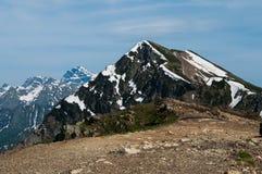 steniga berg Kaukasus natur Royaltyfri Foto