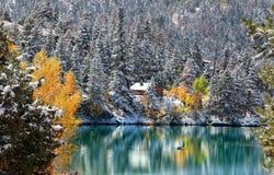 steniga colorado berg royaltyfri foto