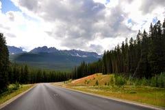 steniga Kanada berg Arkivbild