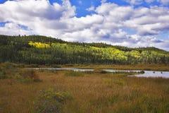 steniga Kanada lakeberg Fotografering för Bildbyråer