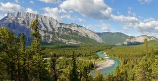steniga kanadensiska berg Arkivbild