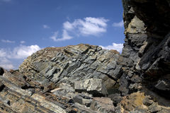 steniga klippor Royaltyfria Foton