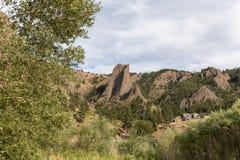 steniga montana berg Arkivbilder