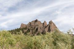 steniga montana berg Arkivbild